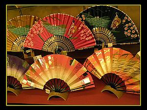 Японский веер. История.. Ярмарка Мастеров - ручная работа, handmade.