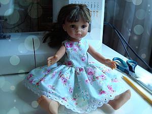 Подробный мастер-класс: шьем очаровательное платье для куклы. Ярмарка Мастеров - ручная работа, handmade.