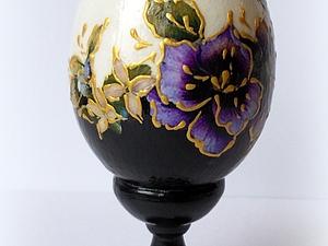 Видео мастер-класс: декорирование пасхального яйца. Ярмарка Мастеров - ручная работа, handmade.