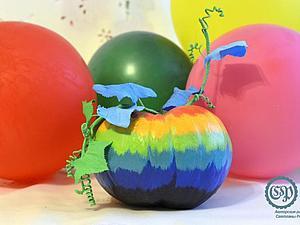 Осенняя поделка в детский сад: просто и красиво! Пошаговый мастер-класс! Часть 1. Ярмарка Мастеров - ручная работа, handmade.