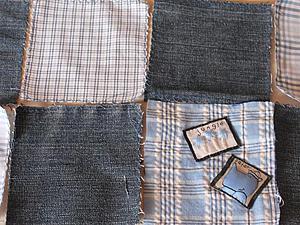 Недекупажная затея: покрывало из джинсы | Ярмарка Мастеров - ручная работа, handmade