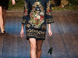 Dolce & Gabbana Milan Fashion Week Womens wear Autumn/Winter 2014 | Ярмарка Мастеров - ручная работа, handmade