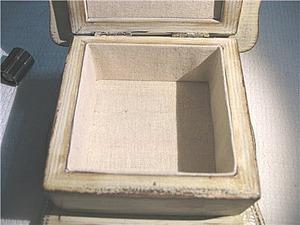 Простой способ внутреннего оформления шкатулок тканями. Ярмарка Мастеров - ручная работа, handmade.
