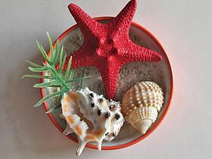 Мастерим вместе с детьми небанальные магнитики — сувениры с летнего отдыха. Ярмарка Мастеров - ручная работа, handmade.