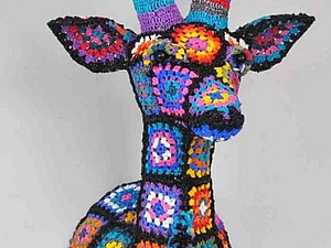 Простая форма плюс фантазия: невероятные возможности «бабушкиного квадрата» | Ярмарка Мастеров - ручная работа, handmade