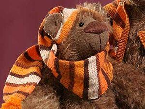 Вяжем шапочку для мишки Тедди. Ярмарка Мастеров - ручная работа, handmade.