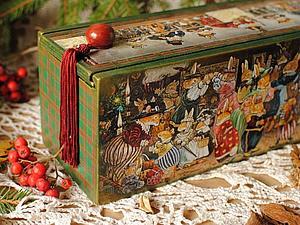 Новогодний набор игрушек! | Ярмарка Мастеров - ручная работа, handmade