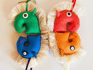Мастер-класс «Елочная игрушка Лошадка» | Ярмарка Мастеров - ручная работа, handmade