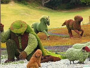 Зеленые шедевры | Ярмарка Мастеров - ручная работа, handmade