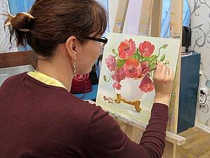 Масляная живопись для новичков. Картина за 3 часа. | Ярмарка Мастеров - ручная работа, handmade