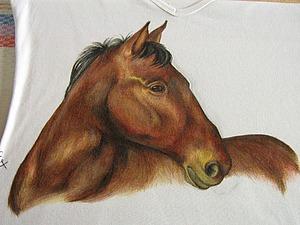 Декорируем футболку рисунком. Ярмарка Мастеров - ручная работа, handmade.