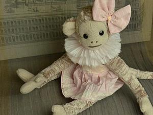 Мастер-класс: одеваем обезьянку тедди. Часть 3: шьем платье. Ярмарка Мастеров - ручная работа, handmade.