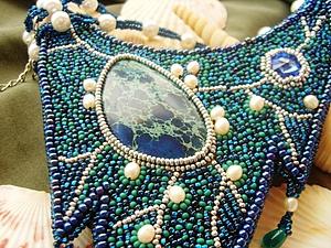 Новое колье про море   Ярмарка Мастеров - ручная работа, handmade