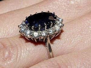 Кольцо принцессы Дианы и Кейт Миддлтон | Ярмарка Мастеров - ручная работа, handmade
