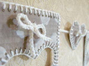 Мастерим гирлянду из картона. Ярмарка Мастеров - ручная работа, handmade.