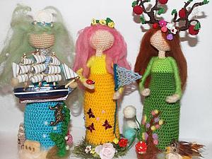 Куколка- Хранительница своими руками | Ярмарка Мастеров - ручная работа, handmade