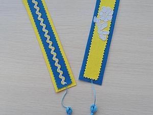 Создание закладки из фетра. Ярмарка Мастеров - ручная работа, handmade.