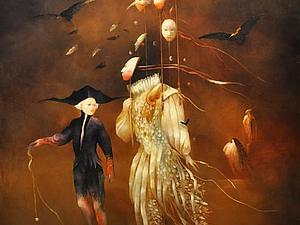 Подсмотреть чужие сны. Творчество Анны Башелье | Ярмарка Мастеров - ручная работа, handmade