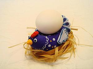 Мастер-класс: Пасхальная курочка &#8211&#x3B; подставка под яйцо. Ярмарка Мастеров - ручная работа, handmade.