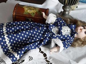 Кукла из флюмо | Ярмарка Мастеров - ручная работа, handmade