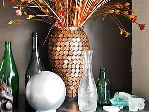 Как превратить простую недорогую вазу в стильный элемент декора? | Ярмарка Мастеров - ручная работа, handmade