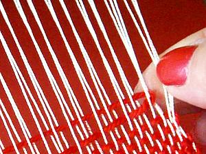 Как избежать боковых протяжек на тканом полотне | Ярмарка Мастеров - ручная работа, handmade