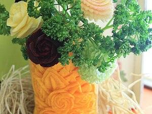 Карвинг- вырезание по овощам и фруктам | Ярмарка Мастеров - ручная работа, handmade