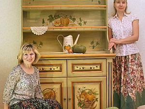 Роспись мебели | Ярмарка Мастеров - ручная работа, handmade
