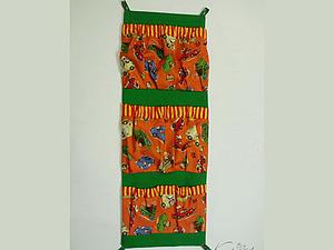 Кармашек для вещей в детский садик. | Ярмарка Мастеров - ручная работа, handmade