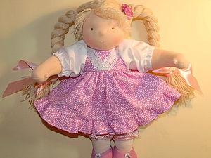 Курс по текстильной (вальдорфской) кукле - 4 занятия   Ярмарка Мастеров - ручная работа, handmade