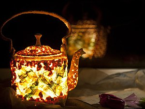 Мастер-класс: делаем необычный чайник-светильник из папье-маше | Ярмарка Мастеров - ручная работа, handmade