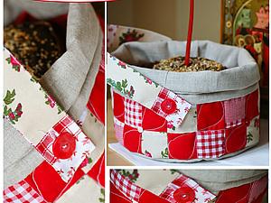 Текстильный короб для освящения пасхального кулича. Ярмарка Мастеров - ручная работа, handmade.