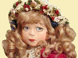 Новая кукла с личиком из пластового фетра- скоро  можно будет увидеть! | Ярмарка Мастеров - ручная работа, handmade