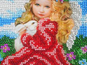 Картина бисером из своего фото