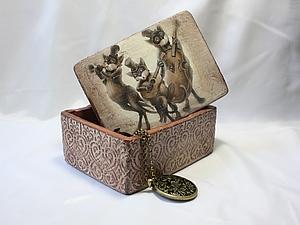 Шкатулка «Замечательные коты - трио