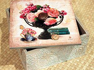 Короб для хранения сладостей, конфет, чая.. Ярмарка Мастеров - ручная работа, handmade.