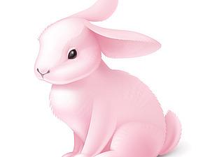 Как кролик хозяйку искал.... | Ярмарка Мастеров - ручная работа, handmade