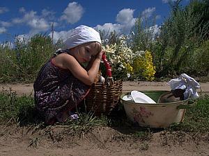 Идея для фотосессии или вдохновение полем и тропинкой | Ярмарка Мастеров - ручная работа, handmade