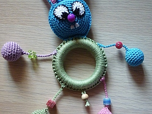 Обвязка грызунка-игрушки для слингобус | Ярмарка Мастеров - ручная работа, handmade