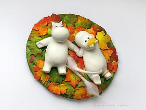 Делаем осенние листья быстро и просто. Ярмарка Мастеров - ручная работа, handmade.