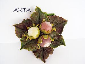 Какой материал я использую для изготовления цветов и листочков. | Ярмарка Мастеров - ручная работа, handmade