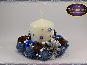 Декорирование свечей | Ярмарка Мастеров - ручная работа, handmade