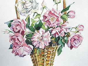 Аукцион!!! Летние акварели! | Ярмарка Мастеров - ручная работа, handmade
