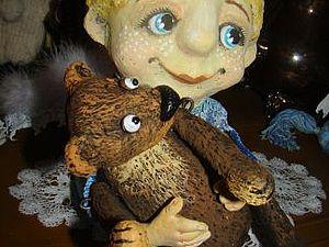 Ангел с мишкой Аукцион