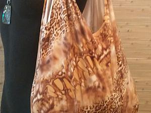 Делаем сумку-авоську с бахромой: утилизируем старый трикотаж. Ярмарка Мастеров - ручная работа, handmade.