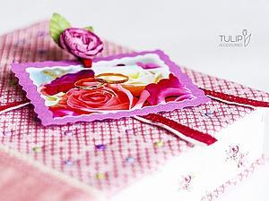 Мастерим подарочную коробку-шкатулку для свадебного альбома | Ярмарка Мастеров - ручная работа, handmade