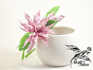 Лепим махровую лилию Magic Star из фоамирана. Ярмарка Мастеров - ручная работа, handmade.