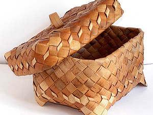 Виды плетения из бересты: продолжаем знакомство с ремеслом. Ярмарка Мастеров - ручная работа, handmade.