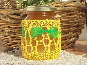 Подарок Винни Пуха, или Как украсить банку меда. Ярмарка Мастеров - ручная работа, handmade.