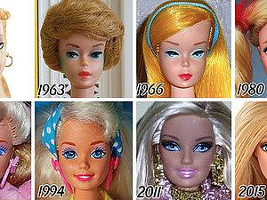 Эволюция куклы Барби за 56 лет. Ярмарка Мастеров - ручная работа, handmade.